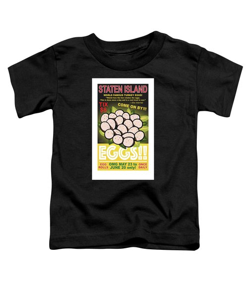 Staten Islands Eggs Toddler T-Shirt