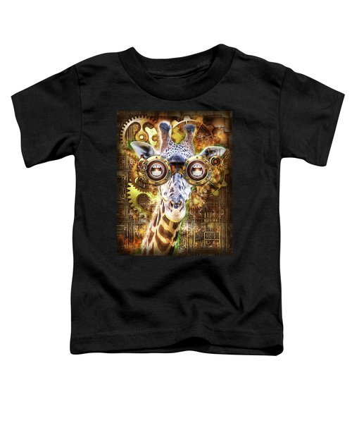 Steam Punk Giraffe Toddler T-Shirt
