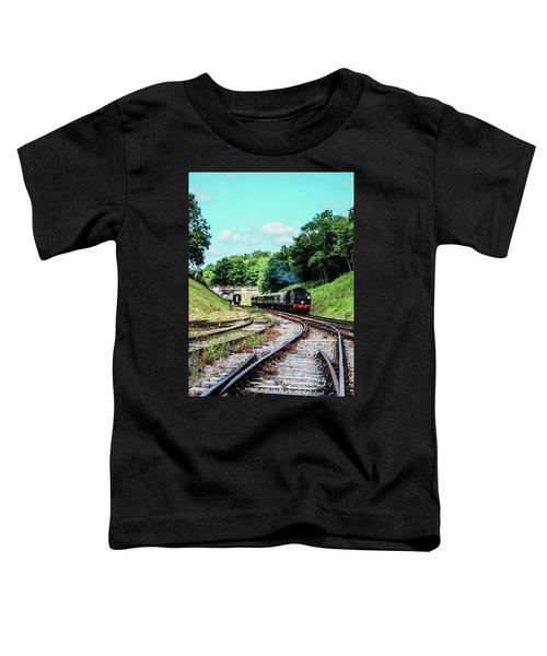Steam Train Nr The Bridge Toddler T-Shirt