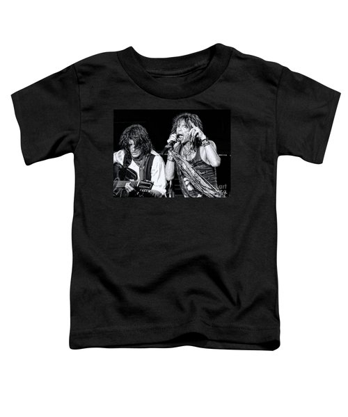 Steven Tyler Croons Toddler T-Shirt by Traci Cottingham