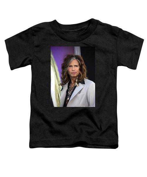 Steven Tyler Toddler T-Shirt by Nina Prommer