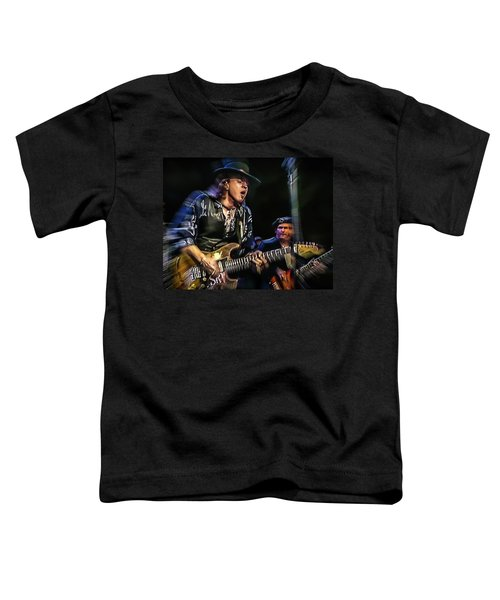 Stevie Ray Vaughan - Couldn't Stand The Weather Toddler T-Shirt