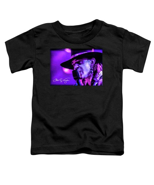 Stevie Ray Vaughan- Voodoo Chile Toddler T-Shirt