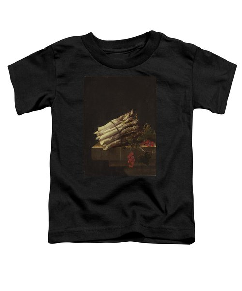 Still Life With Asparagus And Red Currants Toddler T-Shirt