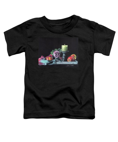 Still Life With Candle Toddler T-Shirt