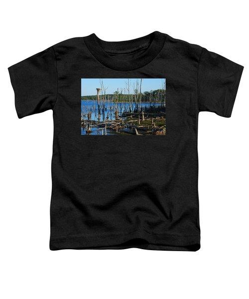 Still Wood - Manasquan Reservoir Toddler T-Shirt