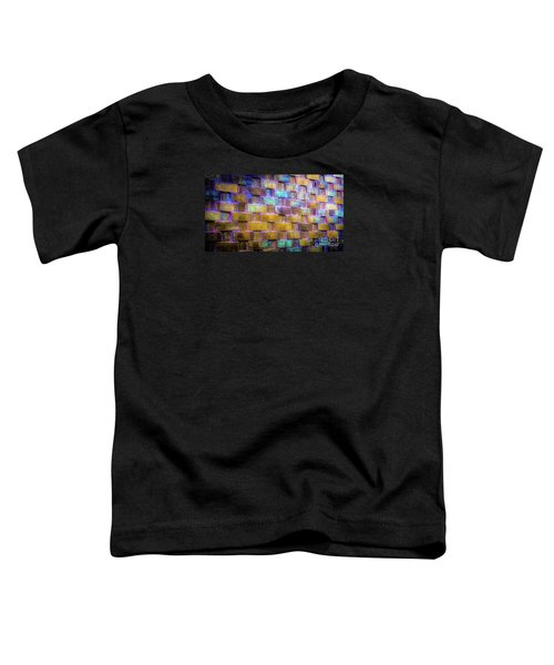 Brick Wall In Abstract 499 Toddler T-Shirt