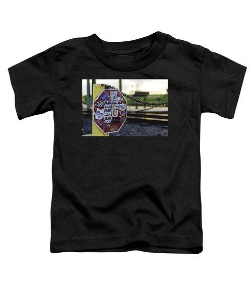 Stop Sign Ala New Orleans, Louisiana Toddler T-Shirt