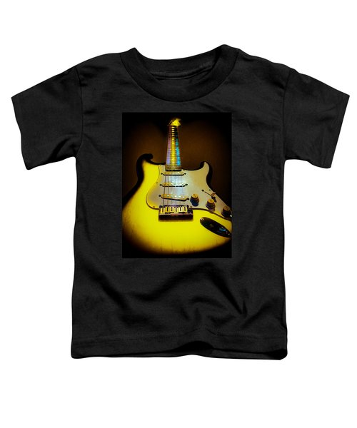 Stratocaster Lemon Burst Glow Neck Series Toddler T-Shirt