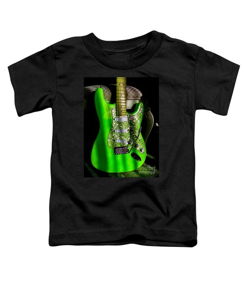 Stratocaster Plus In Green Toddler T-Shirt