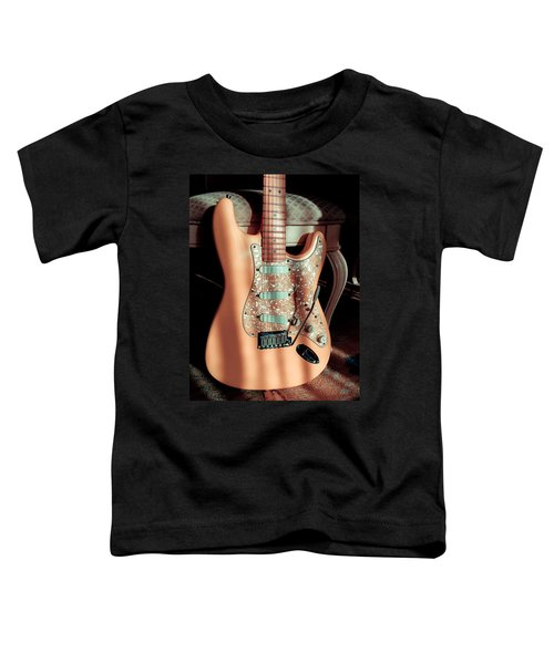 Stratocaster Plus In Shell Pink Toddler T-Shirt