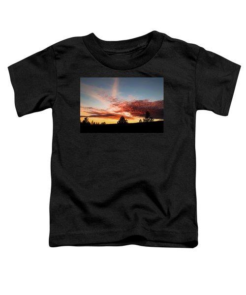 Stratocumulus Sunset Toddler T-Shirt