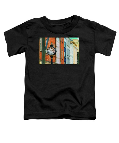 Street Clock In Cork Toddler T-Shirt