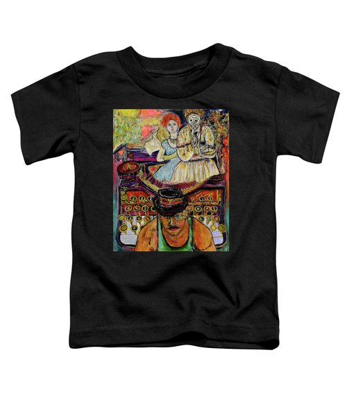 Strife  Toddler T-Shirt by Lindsay Strubbe
