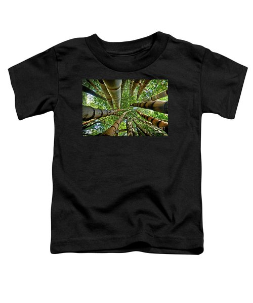 Stunning Bamboo Forest - Color Toddler T-Shirt