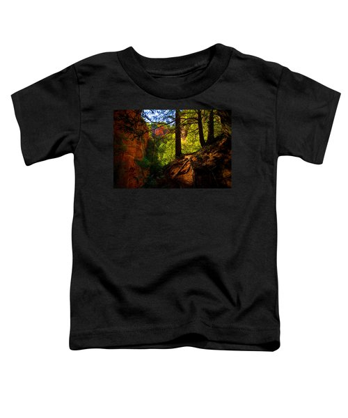 Subway Forest Toddler T-Shirt