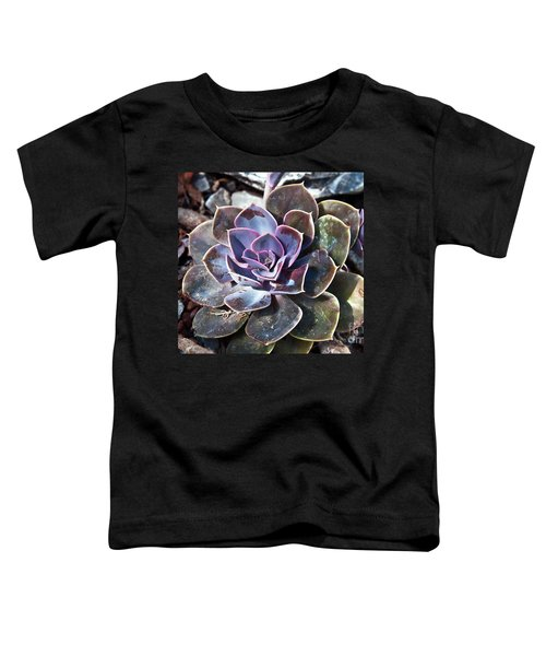 Succulent Plant Poetry Toddler T-Shirt