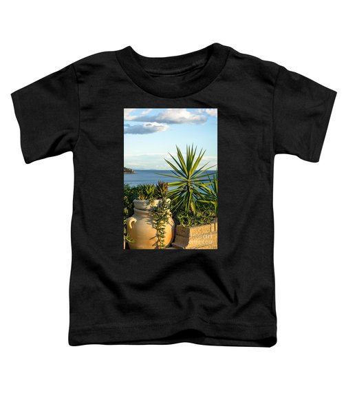 Succulents By The Sea Toddler T-Shirt
