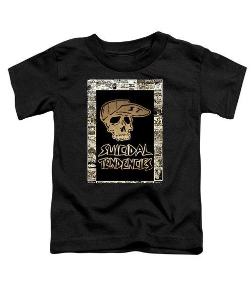 Suicidal Tendencies 2 Toddler T-Shirt by Michael Bergman