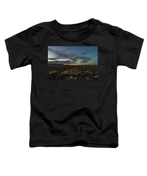 Sundown From Hilltop View Toddler T-Shirt