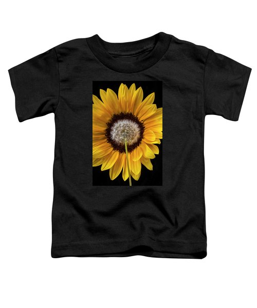 Sunflower And Dandelion Toddler T-Shirt