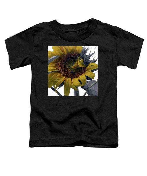 Sunflower Bee Toddler T-Shirt