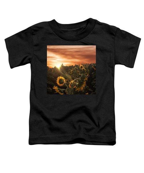 Sunflower Rise Toddler T-Shirt