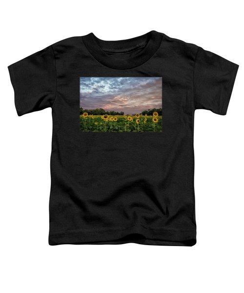 Sunflower Sunrise Toddler T-Shirt