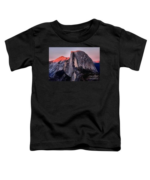 Sunkiss On Half Dome Toddler T-Shirt