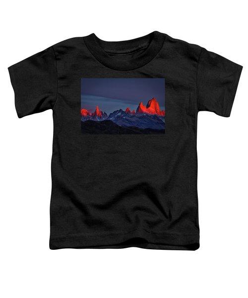 Sunrise At Fitz Roy #2 - Patagonia Toddler T-Shirt