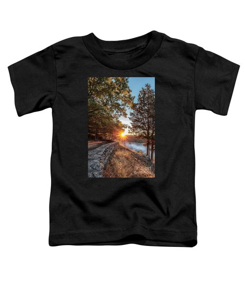 Sunrise At Great Bend Toddler T-Shirt