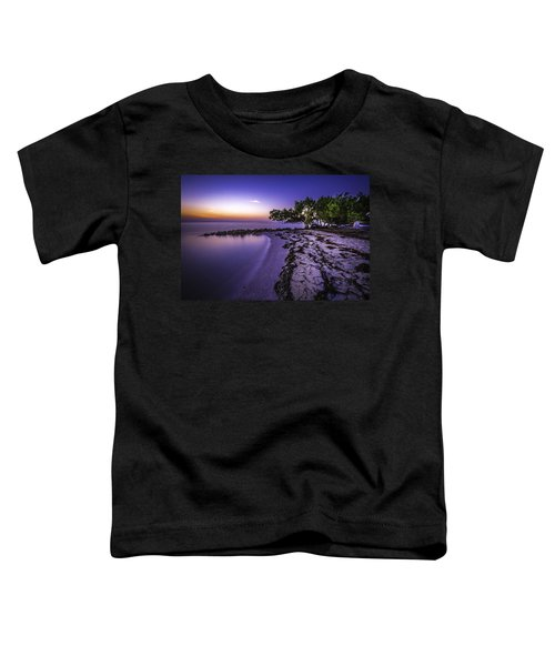 End Of The Beach Toddler T-Shirt