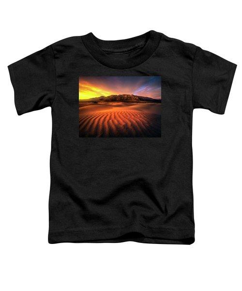 Sunrise-death Valley Toddler T-Shirt