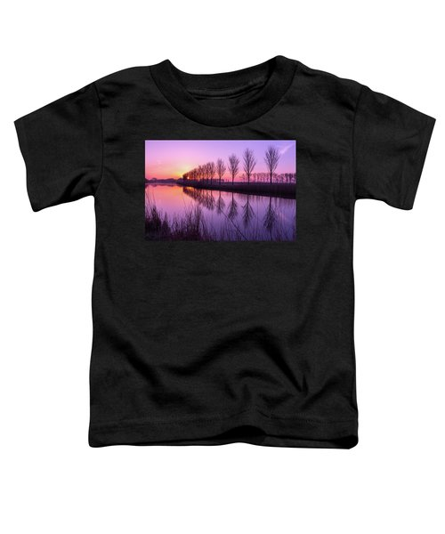 Sunrise In Holland Toddler T-Shirt