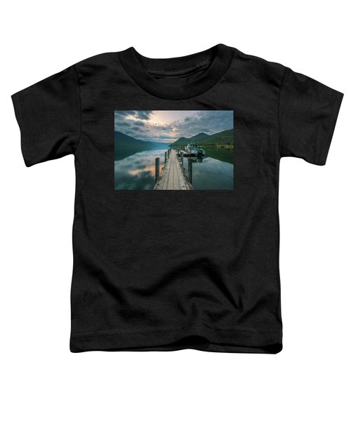 Sunrise Over Lake Rotoroa Toddler T-Shirt