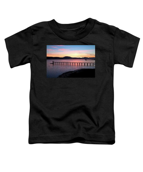 Sunrise Over Tomales Bay Toddler T-Shirt