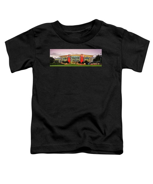 Sunrise Panorama Of George R Brown Convention Center In Downtown Houston - Texas Toddler T-Shirt