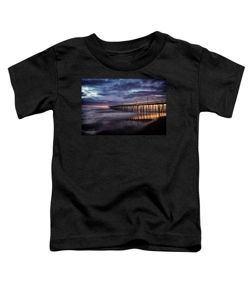 Sunrise Pier Toddler T-Shirt