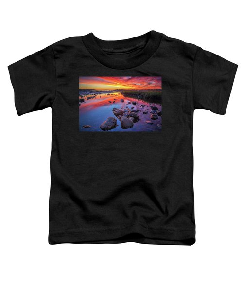 Sunrise Reflections In Harpswell Toddler T-Shirt