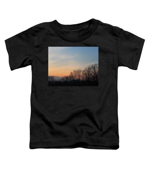 Fall Sunset Toddler T-Shirt