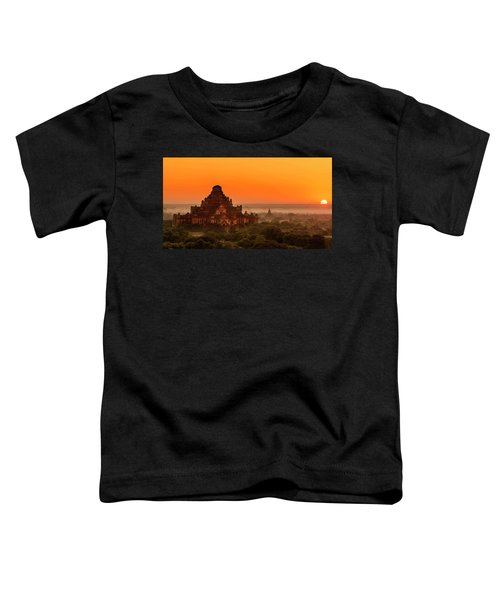 Sunrise View Of Dhammayangyi Temple Toddler T-Shirt