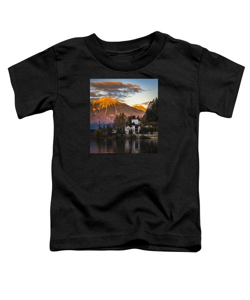 Sunset At Bled Toddler T-Shirt