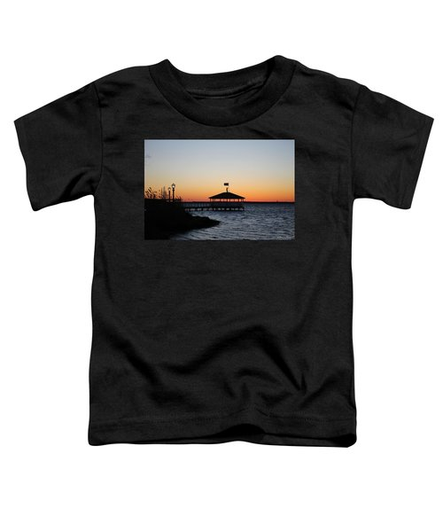 Sunset At Fagers Island Gazebo Toddler T-Shirt