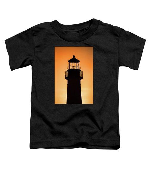 Sunset At Lighthouse Toddler T-Shirt