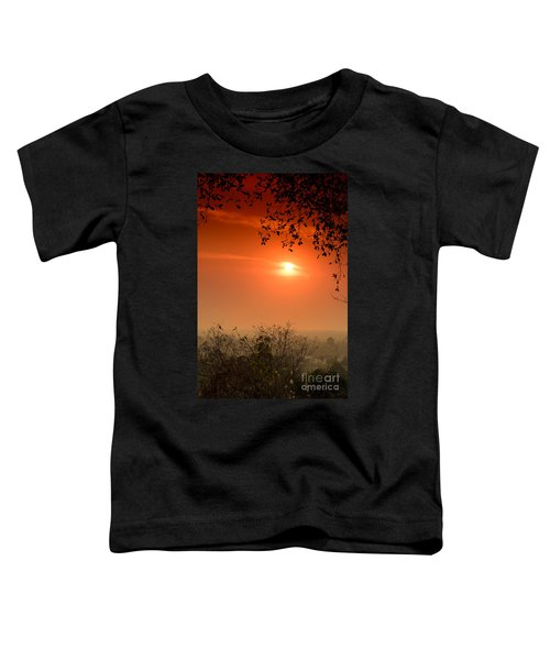 Sunset At Phnom Bakheng Of Angkor Wat Toddler T-Shirt