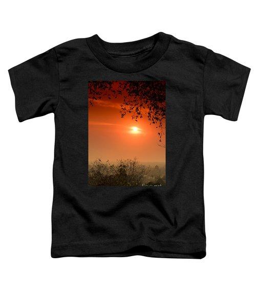 Sunset At Phnom Bakheng Of Angkor Wat Toddler T-Shirt