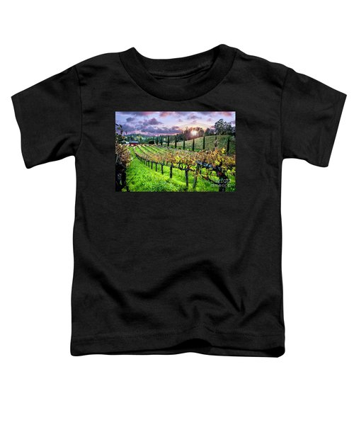 Sunset At The Palmers Toddler T-Shirt