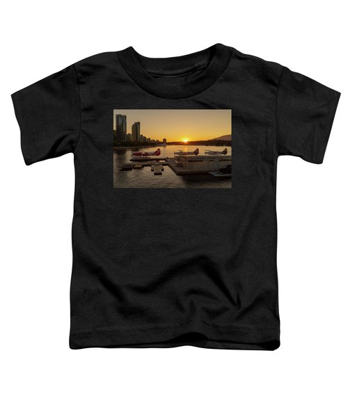 Sunset By The Seaplanes Toddler T-Shirt