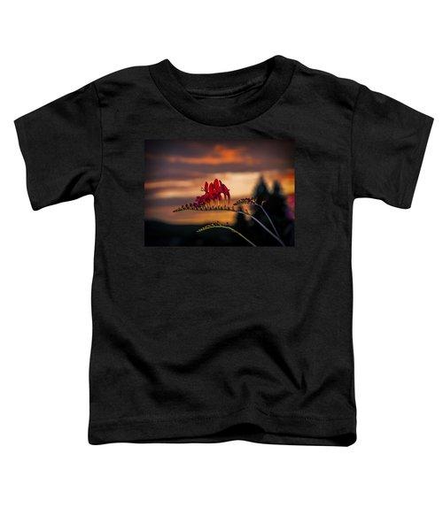 Sunset Crocosmia Toddler T-Shirt