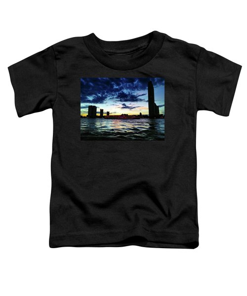 Sunset From The Boat On The Way To Toddler T-Shirt